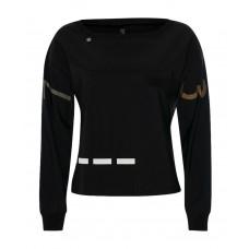 Zip73 trui zwart